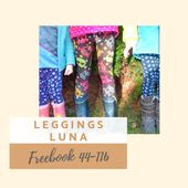 Freebook: Patron Gratuit Leggings Luna   – Nähen
