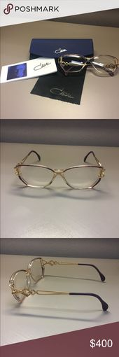 Cazal Women's Eyeglasses Frame Model #367, these vintage Cazal designer frames… – My Posh Picks