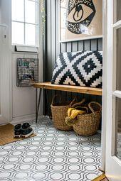 So tapezieren Sie einen Fußboden – eine mieterfreundliche Alternative! , #alternative #Floor …