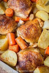 Ein Topf Huhn & Kartoffeln – (Freies Rezept unten)   – My recipes
