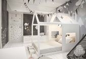 Two Large Scandinavian Style Homes For Young Families – Children's Room Decor