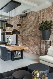 45+ schöne rustikale Kronleuchter Dekor Ideen für Ihr Wohnzimmer