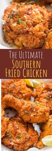 Ultimate Southern Fried Chicken