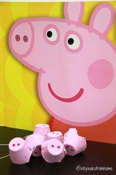 Wie man eine Peppa Pig Nase macht – #forkidstomake #nos …