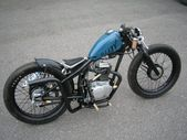 kleiner Honda Klopfer Bobber   – motos –   #Bobber #Honda #kleiner #Klopfer #Mot…