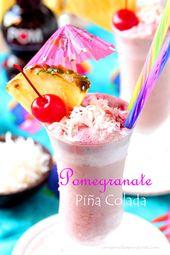 Granatapfel Pina Colada   – Cafe
