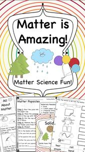 States of Matter Activities for Solids, Liquids and Gases