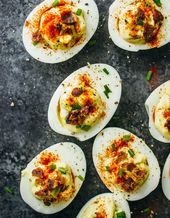 The ULTIMATE Guide to Deviled Eggs ~ 50 + fabulous deviled eggs for every occasi…