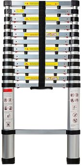 Best Telescoping Ladders In 2020 Reviews Telescopic Ladder Ladder Aluminium Ladder