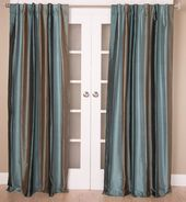 #12P3 Striped SILK Curtain (Use Discount Code)