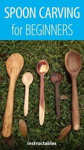 Spoon Carving for Beginners #woodworkingplans
