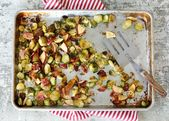Salty bacon, sweet apples, and caramelized Brussels sprouts are combined in this…   – Side Dishes