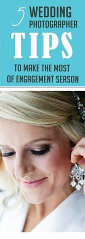 5 Tipps für Hochzeitsfotografen, um die Engagement-Saison optimal zu nutzen