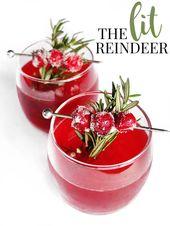 Das brennende Rentier   – Cocktails