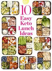 10 idées faciles de boîtes à lunch Keto