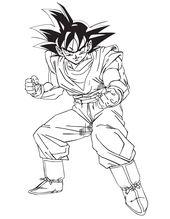 Goku Coloring Pages For Kids Enjoy Coloring Dragon Ball Goku Dragon Ball Goku
