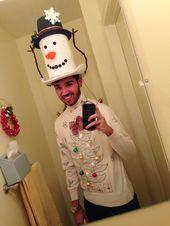 MEISHANG Santa Hat Felt,Xmas Hats Funny,Xmas Hats Novelty,Xmas Holiday Hat,Xmas Hats Adults,Christmas Hats Funny,Unisex Christmas Hat,Christmas Hats for Kids