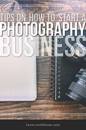 So gründen Sie ein Fotografie-Geschäft – Bauen Sie ein Portfolio auf – Sixth Bloom