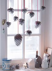 Natürliche Weihnachten – Basteln mit Naturm…