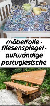 Möbelfolie – fliesenspiegel – aufwändige portugiesische fliesen – möbel klebefolie 9