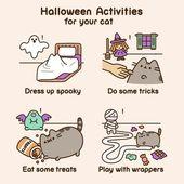 Fröhliches Halloween vom Pusheen Box Team! 👻🎃💀 Regram über Pusheen