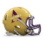 Congrats Alcorn State Braves Football Helmets College Football Helmets Football