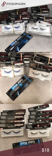 Eyelashes 10 units New sealed field glow in darkish and many others. Moist N Wild Fantasy Makers Wil…