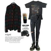 1,989 Me gusta, 8 comentarios – Grunge Look Book (@criesingrunge) en Instagram: … – Tiffany Thurow – Gothic/grunge