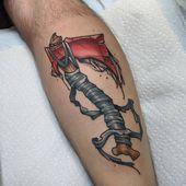 Handbeil von Tyler Nguyen (mir) aus meiner kleinen Nadel Tattoos Plymouth gemacht …