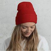 Kolylong winter hat men women baggy warm crochet winter wool knit ski beanie skull slouchy caps hat – Products