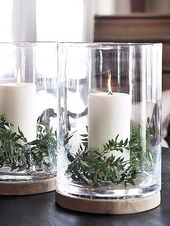 Simple Holiday Decor These simple holiday decor id…