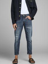 JACK & JONES Jeans 'Frank Leen BL 864' Men, Blue Denim, Size 26