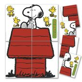 Eureka Riesen Charakter Snoopy & Dog House Bulletin Board Set