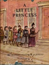 livre vintage enfants Tasha Tudor The Little Princess de Frances Hodgson Burnett, classique de l'auteur de The Secret Garden, superbes illustrations   – VINTAGE CHILDREN  BOOKS