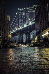NYC Photography, Manhattan Bridge, New York Art Print, NYC Urban Art, Brooklyn, …  – Bilder