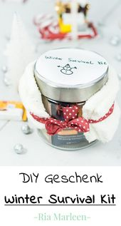 Winter Survival Kit – quick and easy DIY gift idea