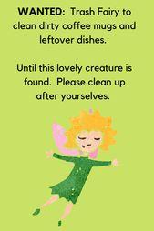 Office Kitchen Etiquette Funny Sign Downloadable Greencleandesigns Com Office Kitchen Etiquette Funny Kitchen Signs Kitchen Humor