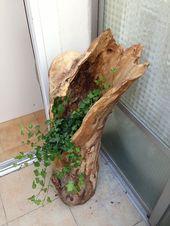 DIY: Was können wir mit einem Holzstamm machen? – Camille Moreno – #Camill …