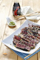Photo of Sesame sliced tuna
