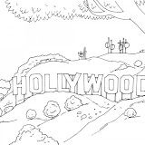 Hollywood Coloring Page Universal Studios With Images