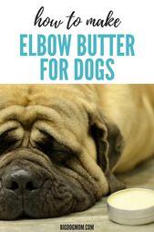 Trate las callosidades del perro en casa con la mantequilla de codo DIY para perros   – Fur Babies