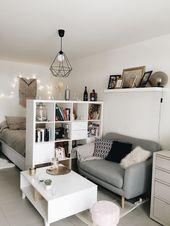 42 Minimalist Apartment Studio Decorating Ideas St…