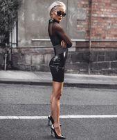 Wie man ein sexy kleines schwarzes Kleid trägt, ohne schlicht und langweilig auszusehen