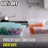 (80% OFF TODAY) Leakproof Containers Stand Up – Completely Plastic-Free