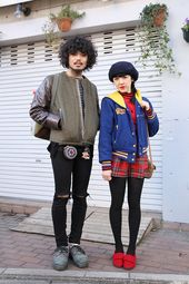 Street Fashion | Mode / Streetstyle / Tokio Streetstyle Bilder Frühling 201 … – Taking It To The Streets!