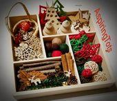 Wooden Winter Reggio Emilia Inspired Loose Parts Montessori Seasons Work Waldorf Nature Table Open E