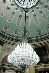 Murshidabad Places - Hazarduari Palace 96 lamp crystal Chandelier ...