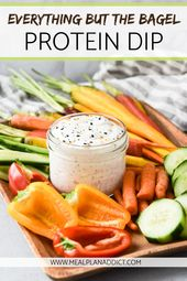 Everything But the Bagel Protein Dip – Foodie.