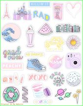 Wallpaper Tumblr – Pastel Stickers  #WallpaperTumblraestheticpastel #WallpaperTu…