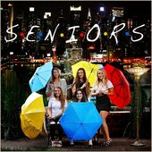 """Senior Pictures in a TV Friends theme – """"I'll Be There For You"""" – by Dallas Photographer Lisa McNiel"""